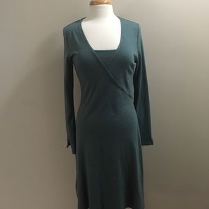 Beautiful green mid length dress
